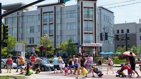 Pier Village à la longue branche dans le New Jersey Images libres de droits