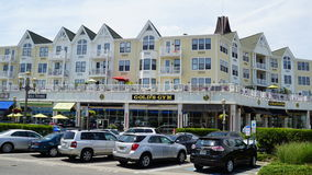 Pier Village at Long Branch in New Jersey. USA. Long Branch takes its name from the long branch or south branch of the Shrewsbury River Royalty Free Stock Photos