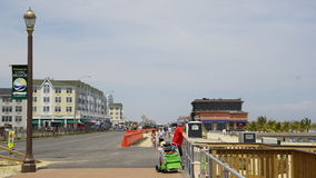 Pier Village at Long Branch in New Jersey. USA. Long Branch takes its name from the long branch or south branch of the Shrewsbury River Royalty Free Stock Photography