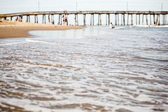 Pier at Virginia Beach Royalty Free Stock Images
