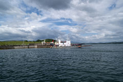 Pier on Whiddy Island. Whiddy Island in The Bantry Bay,County Cork,Ireland Stock Photography
