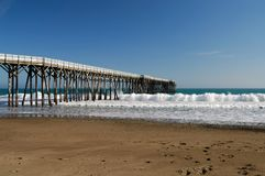 Pier - William Randolph Hearst Royalty Free Stock Image