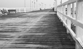 On the pier Stock Photo