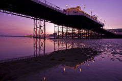 pier worthing Fotografia Stock