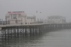The pier of Worthing, England Royalty Free Stock Photography