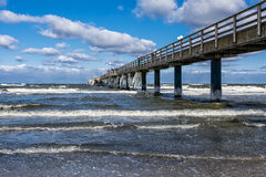 Pier in Zingst Stock Photo