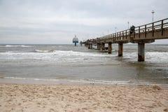 The pier of Zinnowitz on Usedom Royalty Free Stock Photos