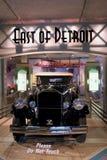 1931 Pierce Arrow, dat in het Automuseum van Saratoga, New York, 2015 wordt getoond Royalty-vrije Stock Fotografie