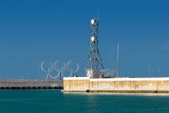 Pierce on the Black Sea. Sochi. Russia Stock Photos