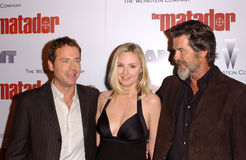 Pierce Brosnan,Greg Kinnear,Hope Davis Stock Image