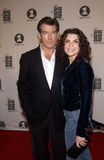 Pierce Brosnan,Julianna Margulies Stock Photos