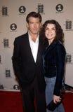 Pierce Brosnan,Julianna Margulies Stock Photos