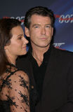 Pierce Brosnan,Keely Shaye Smith Royalty Free Stock Images