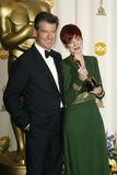 Pierce Brosnan,Sandy Powell Stock Photography