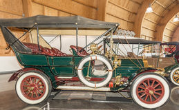 1907 Pierce Great Arrow. On display at the American Car Museum, Tacoma, Washington. 9 May, 2015 Royalty Free Stock Photo