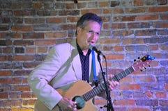 Pierce Pettis. Folk singer and song writer Pierce Pettis Royalty Free Stock Image