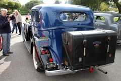 Pierce retro car Royalty Free Stock Photo