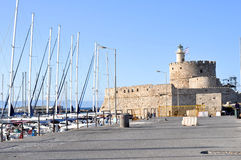 Pierce in Rhodes Royalty Free Stock Images