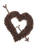 Pierced heart Stock Image