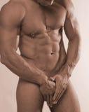 Pierced male nude Stock Photo