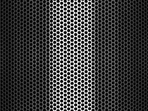 Pierced Metal Grid Background Royalty Free Stock Image
