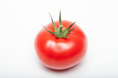 Pierced tomato Royalty Free Stock Images