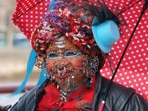 Pierced woman Stock Photography