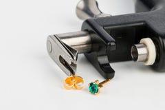 Piercing gun. stock image