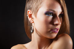 Piercings Royalty Free Stock Photography
