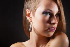 Piercings royaltyfri fotografi