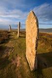 Pierścionek Brodgar, Orkney, Szkocja Zdjęcia Royalty Free