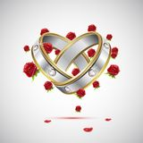 pierścionek zaręczynowy Zdjęcia Royalty Free