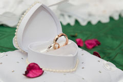 pierścionków target1330_1_ Zdjęcia Royalty Free