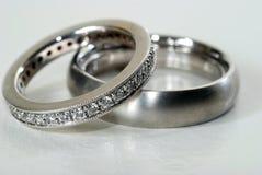 pierścionków target2376_1_ Obraz Royalty Free