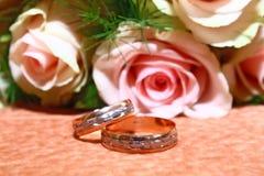 pierścionków target673_1_ Obraz Stock