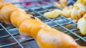 Pierda para arriba de streetfood tailandés Fotos de archivo libres de regalías