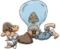 Pierdzi balon ilustracji