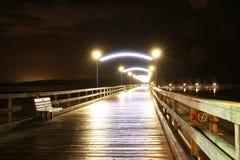 Pierhafen Lizenzfreies Stockfoto