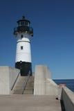 pierhead маяка duluth стоковое фото rf