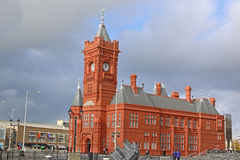 Pierhead Building, Cardiff Royalty Free Stock Image