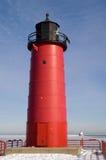pierhead milwaukee маяка Стоковая Фотография RF
