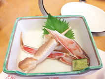 Pierna de cangrejo Imagen de archivo