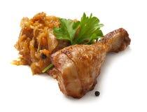 Pierna de pollo Foto de archivo libre de regalías