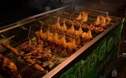 Pierna de pollo asada Kunming de Yunnan fotografía de archivo