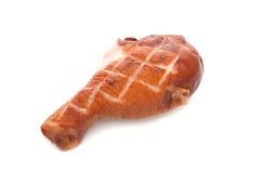 Pierna de pollo asada a la parilla Fotos de archivo
