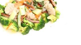 Pierna de pollo cocinada Imagen de archivo libre de regalías