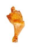 Pierna de pollo en un blanco Imagenes de archivo