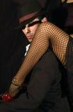 Pierna del tango Fotos de archivo
