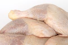 Piernas de pollo Foto de archivo libre de regalías