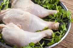 Piernas de pollo Fotografía de archivo